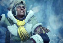 صورة عرض القصة الخاص بتوسعة Monster Hunter World: Iceborne .