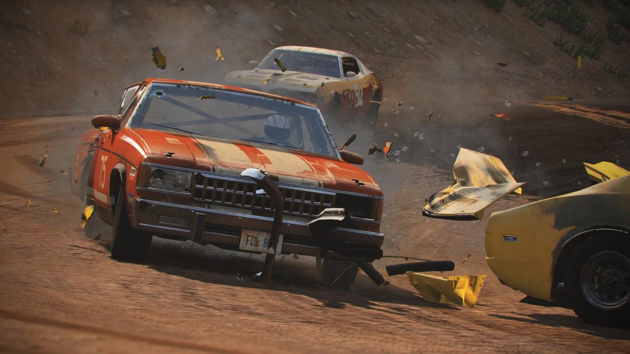 Photo of استعراض جديد للعبة السيارات Wreckfest