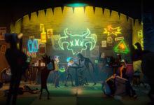 صورة عرض الإطلاق الخاص بلعبة Afterparty .