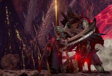 صورة عرض دعائي جديد للعبة Code Vein يسلط الضوء على وحش (Insatiable Despot) .