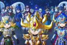 صورة الإعلان عن إصدار لعبة Dragon Quest of the Stars للغرب خلال عام 2020 .
