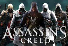 صورة إجمالي مبيعات السلاسل المعروفة لشركة يوبي سوفت وسلسلة Assassin's Creed على رأس القائمة .