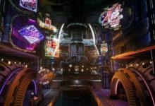 صورة عرض دعائي جديد للعبة The Outer Worlds يدعوك لزيارة مستعمرة (Halcyon) .