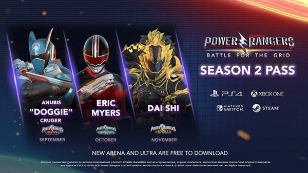 Power Rangers BftG 09 24 19