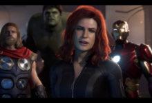 صورة تغريدة من Crystal Dynamics تتحدث عن تصميم Black Widow في لعبة The Avengers القادمة