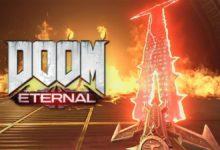 صورة عرض قصير للعبة Doom Eternal يستعرض الضربة القاضية