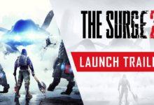 صورة عرض الإطلاق الخاص بلعبة The Surge 2 .
