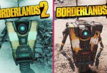 صورة مقارنة رسوم لعبة Borderlands 3 مع لعبة Borderlands 2