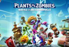 صورة الإعلان عن لعبة إطلاق Plants Vs. Zombies: Battle for Neighborville مع إستعراض لإسلوب اللعب