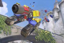 صورة حدث جديد في Overwatch مقتبس من تصميمات Lego لشخصية Bastion