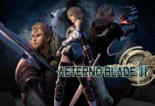 صورة عرض الإطلاق للعبة AeternoBlade II على منصة Xbox One .