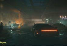 صورة صورة واحدة جديدة من لعبة Cyberpunk 2077.