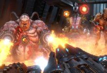 صورة الإعلان عن تأجيل موعد إصدار لعبة DOOM Eternal لتاريخ 20 مارس 2020 .