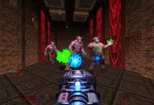 صورة الإعلان بشكل رسمي عن لعبة DOOM 64 .