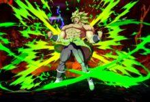 صورة صور جديدة لشخصية Broly القادمة للعبة Dragon Ball FighterZ كمحتوى إضافي .
