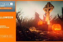 صورة تحديث مجاني جديد للعبة Hitman 2 إحتفالاً بعيد الهالووين .