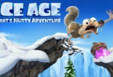 صورة عرض اطلاق لعبة المغامرات Ice Age: Scrat's Nutty Adventure
