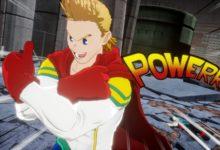 صورة إستعراض لشخصيات Mirio و Togata و All Might و Tomura Shigaraki القادمين للعبة My Hero One's Justice 2 .