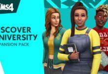 صورة الكشف عن توسعة Discover University القادمة للعبة The Sims 4 .