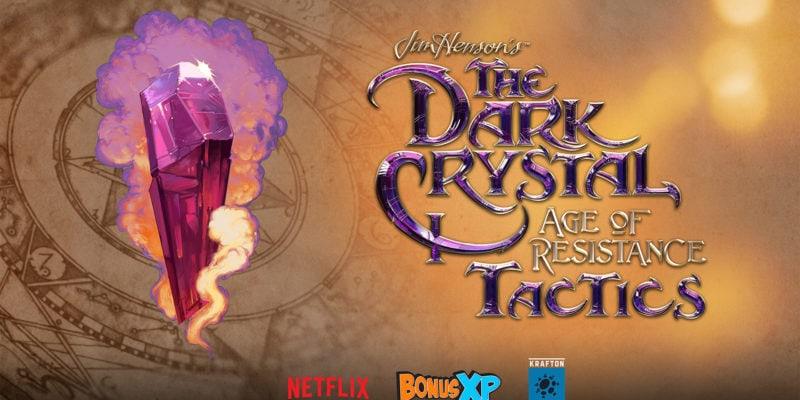 The Dark Crystal Age of Resistance Tactics Key Art Logo 800x400