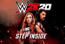 صورة عرض الاطلاق الرسمي للعبة WWE 2K20