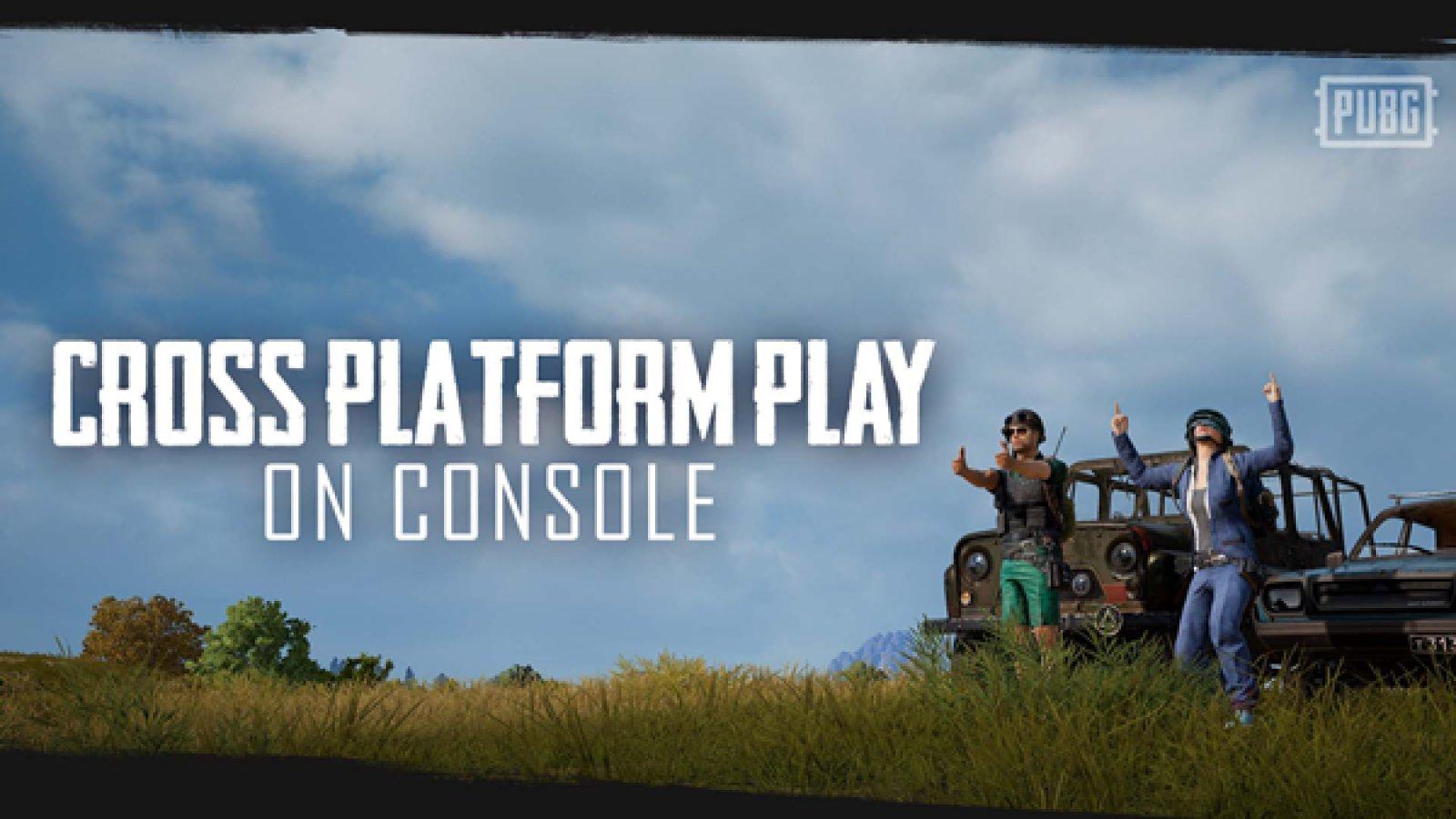 Photo of لعبة PUBG تحتفل بإضافة اللعب الجماعي المشترك بين منصات Xbox One و PS4 .