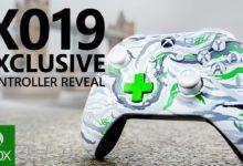صورة الاعلان عن وحدة تحكم جديدة لجهاز Xbox One