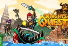 صورة الكشف عن تاريخ إصدار لعبة A Knight's Quest .