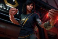 صورة الإعلان عن شخصية Ms. Marvel في لعبة The Avengers