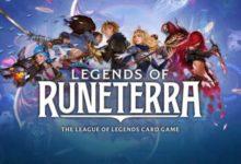 صورة الإعلان عن لعبة Legends of Runeterra للهواتف المحمولة ومنصات الكونسول المنزلية .