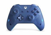 صورة إستعراض النسخة الخاصة من يد تحكم الأكس بوكس ون باللون (Sport Blue) .