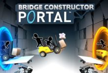 صورة إضافة Portal Proficiency ستضيف 30 مرحلة جديدة للعبة Bridge Constructor Portal .