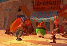 صورة عرض الإطلاق للعبة Asterix & Obelix XXL3: The Crystal Menhir .