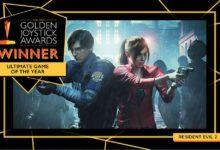 Photo of لعبة Resident Evil 2 تحصل على لقب لعبة العام خلال حفل جوائز Golden Joystick 2019 .