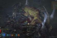 صورة عرض دعائي جديد للعبة Diablo IV يسلط الضوء على زعيم Ashava .