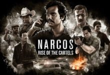صورة عرض الإطلاق الخاص بلعبة Narcos: Rise of the Cartels .