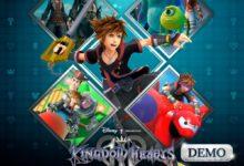 صورة ديمو لعبة Kingdom Hearts III متوفر الآن للتحميل .