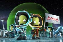 صورة الإعلان عن موعد إصدار توسعة Breaking Ground القادمة للعبة Kerbal Space Program .