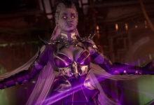 صورة العرض الدعائي الأول لشخصية Sindel القادمة للعبة Mortal Kombat 11 كمحتوى إضافي .
