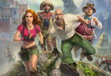 صورة عرض الإطلاق للعبة Jumanji: The Video Game .