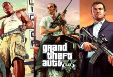 صورة مبيعات لعبة Grand Theft Auto V تجاوزت حاجز 115 مليون نسخة مباعة عالمياً .