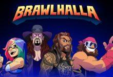 صورة لعبة Brawlhalla تضيف شخصيات Roman Reigns و The Undertaker و Asuka و Randy Savage كجزء من التعاون المتشرك مع WWE .