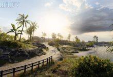 صورة خريطة Wake Islandقادمة بشكل جديد للعبة Battlefield V بتاريخ 12 ديسمبر .