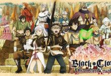 صورة النسخة الغربية من لعبة Black Clover: Phantom Knights قادمة خلال عام 2020 .