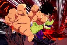 صورة عرض دعائي جديد لشخصية Broly القادمة للعبة Dragon Ball FighterZ كمحتوى إضافي .