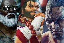 صورة الإعلان عن شخصيات Ganryu و Fahkumram القادمة للموسم الثالث من لعبة Tekken 7 .