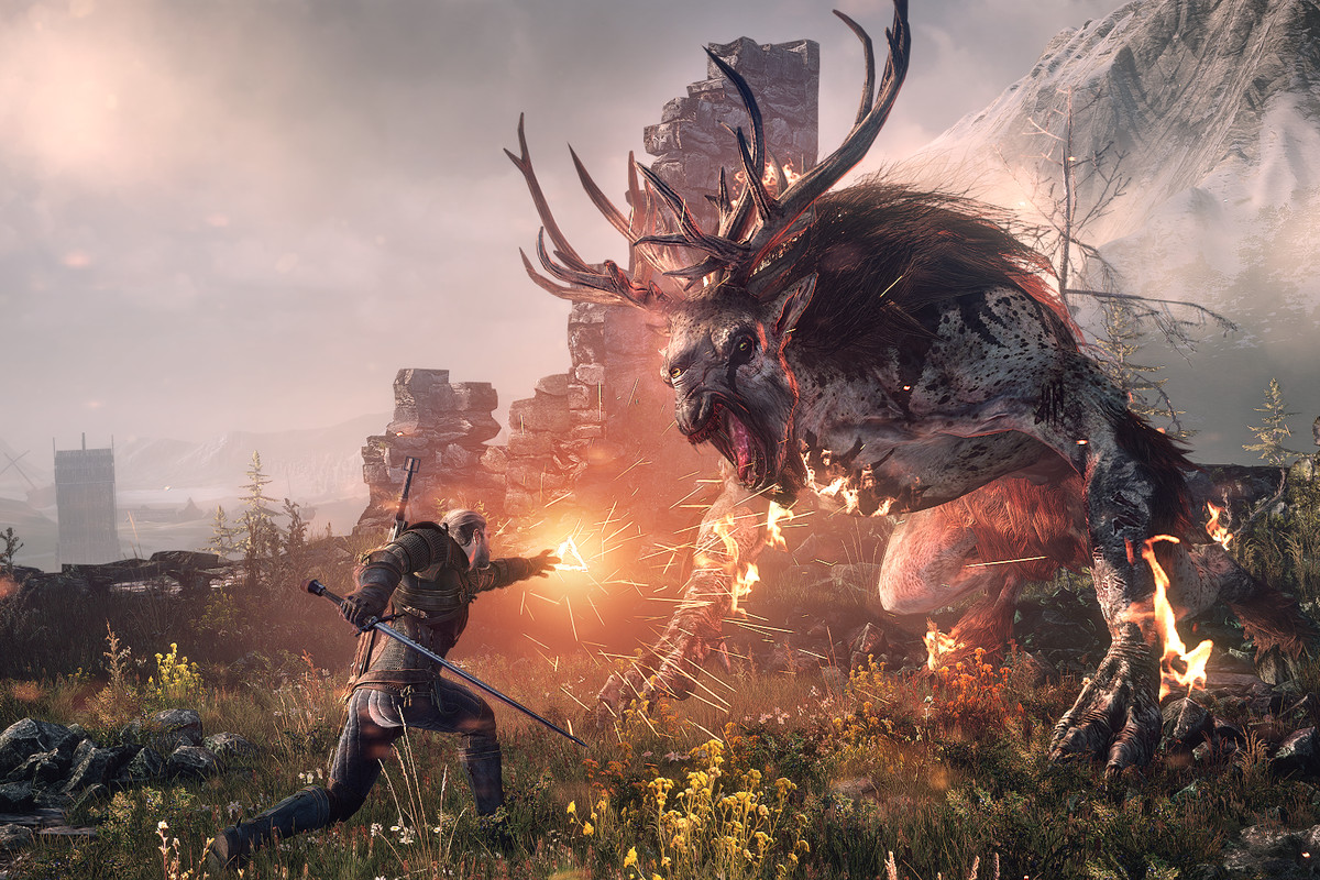 The Witcher 3 Wild Hunt Some creatures will be more prone to inflammation than others The Igni sign works perfectly on the fiend.0.0
