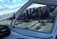 صورة لعبة Microsoft Flight Simulator ستقدم تجربة طيران واقعية للغاية .
