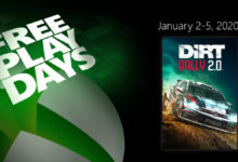 صورة لعبة DiRT Rally 2.0 متوفرة للتحميل بشكل مجاني من خلال متجر Xbox الرقمي .