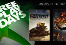 صورة ألعاب Wreckfest و Zombieland: Double Tap – Road Trip متوفرة للتحميل بشكل مجاني من خلال متجر Xbox الرقمي .